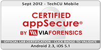 Certified appSecure